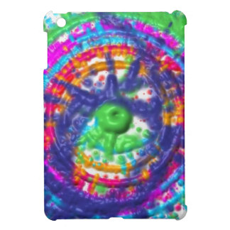Splatter paint color wheel pattern iPad mini covers