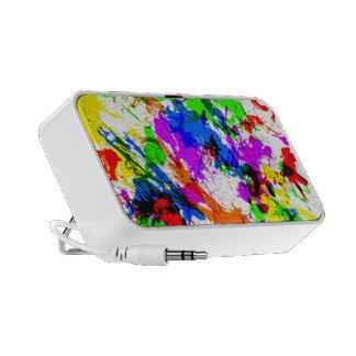Splatter Paint Travel Speaker