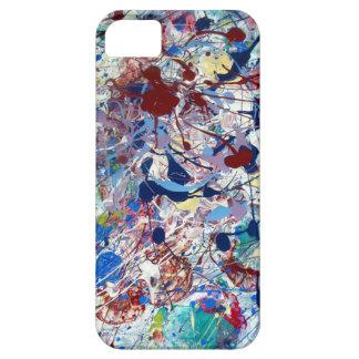 Splatter Painting Iphone 5 case