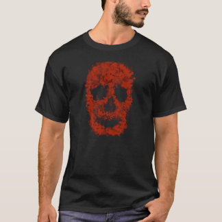 Splatter Skull (talk blood) T-Shirt