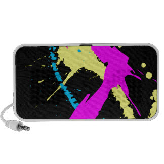 Splatter iPhone Speakers