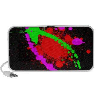 Splatter Notebook Speaker