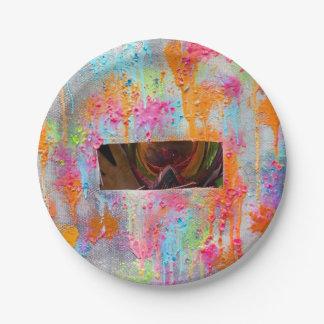 Splatter Surprise Paper Plate