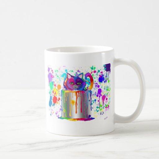 Splatter Time! Coffee Mugs