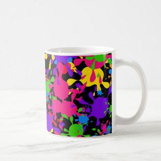 Splatter Wallpaper Basic White Mug