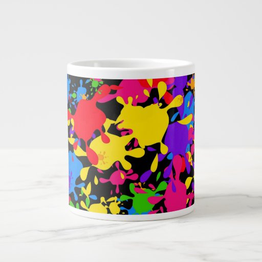 Splatter Wallpaper Extra Large Mugs