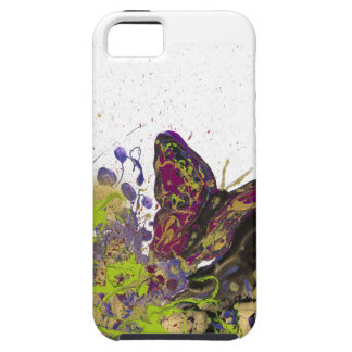 Splattered Butterfly iPhone 5/5s Vibe Tough iPhone 5 Case