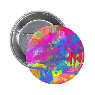 Splattered Paint Button