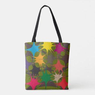 Splattered Paint Tote Bag