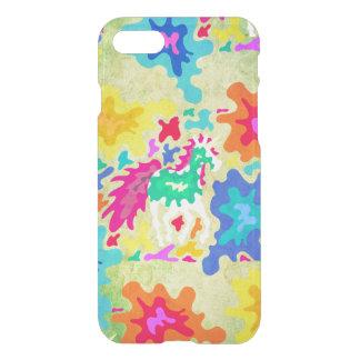 Splattered Unicorn iPhone 7 Case