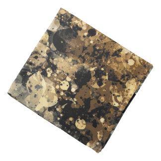 Splatters Camouflage BROWN Bandana