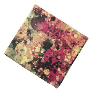 Splatters Camouflage COLOR MIX Bandana