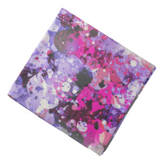 Splatters Camouflage PURPLE MIX Bandana