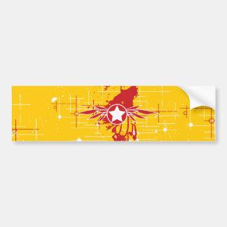 Splatterwings Bumper Sticker