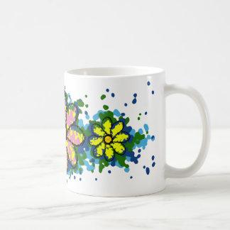 Splatty Daisy Coffee Mug