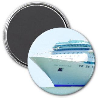 Splendid Cruise Ship 7.5 Cm Round Magnet