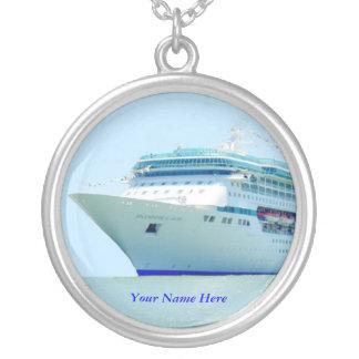 Splendid Cruise Ship Custom Necklace