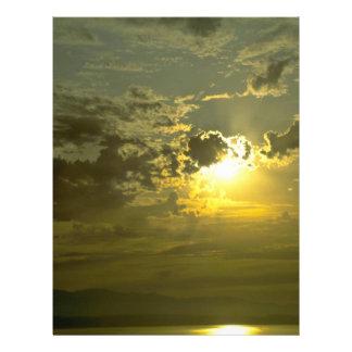 Splendid Evening Sky 21.5 Cm X 28 Cm Flyer