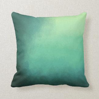Splendid green kissing cushion