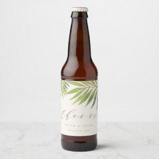 Splendid Summer Wedding Bottle labels