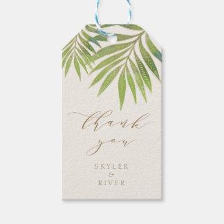 Splendid Summer Wedding Gift tag