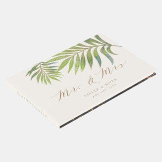 Splendid Summer Wedding Guest Book