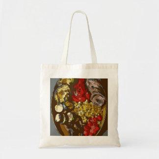 Splendid Vegetable Medley of Onions Tomatoes Tote Bag