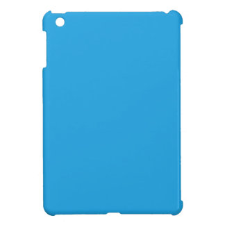 Splendidly Serene Blue Color iPad Mini Cover