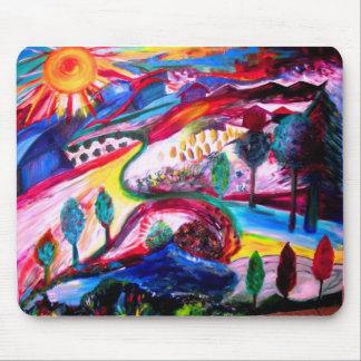 """Splendor in JERUSALEM"" by Michelle Katz, 2006 Mouse Pad"