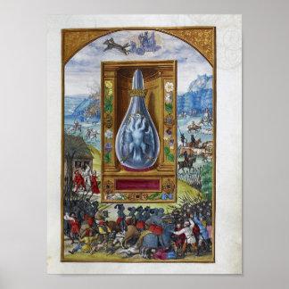Splendor Solis, a German Alchemical Treatise Poster