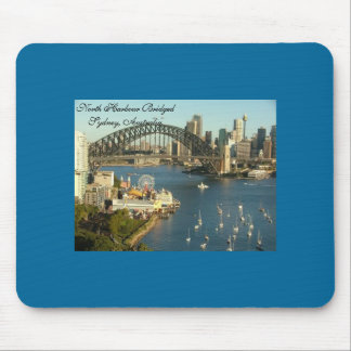 Splendored Sunshines, Curby Bridged, Boaty River Mouse Pad