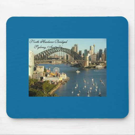 Splendored Sunshines, Curby Bridged, Boaty River Mousepad