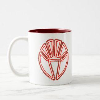 Splinter Fist Two-Tone Coffee Mug