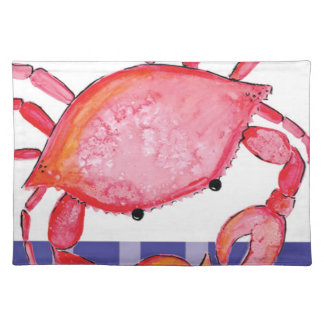 Splish crab placemat