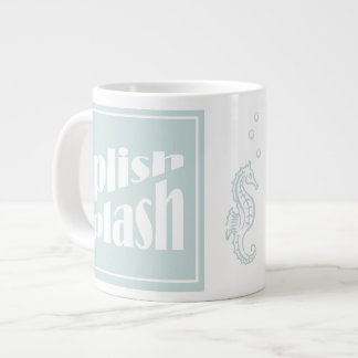 Splish Splash Large Coffee Mug