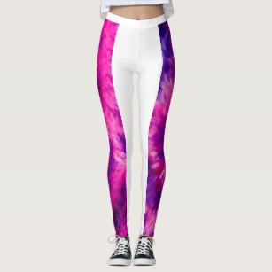 Splish Splash Leggings in Bubblegum Blast