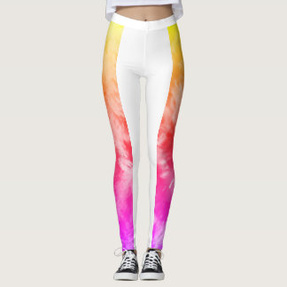 Splish Splash Leggings in Tequila Sunrise