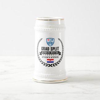 Split Beer Stein