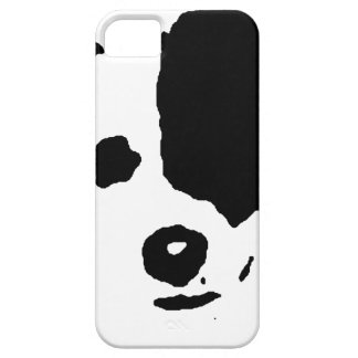 Split Face Border Collie Barely There iPhone 5 Case