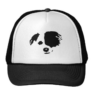 Split Face Border Collie Cap