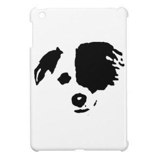 Split Face Border Collie iPad Mini Covers