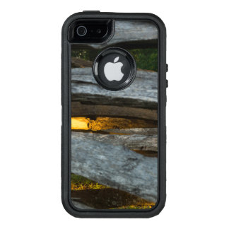 Split Rail Abstract OtterBox Defender iPhone Case