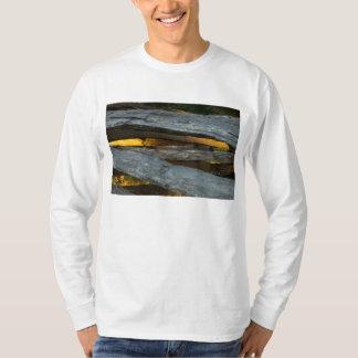 Split Rail Texture T-Shirt