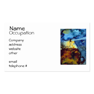 Split Rock Lighthouse At Night Business Card