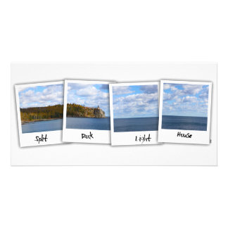 Split Rock Lighthouse Film) Photo Card