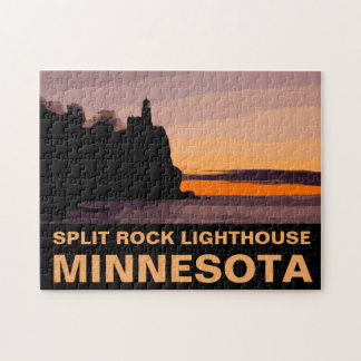 SPLIT ROCK LIGHTHOUSE JIGSAW PUZZLE