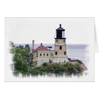 Split Rock Lighthouse Minnesota Photo Note Card