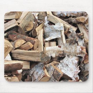 Split Wood Birch Poplar Maple Mouse Pad