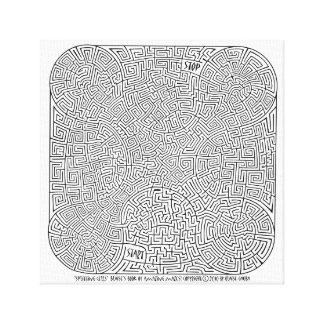 Splitting Cells - A Blaise Gauba Creation Canvas Print