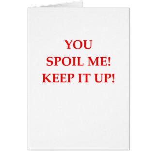 SPOIL CARD